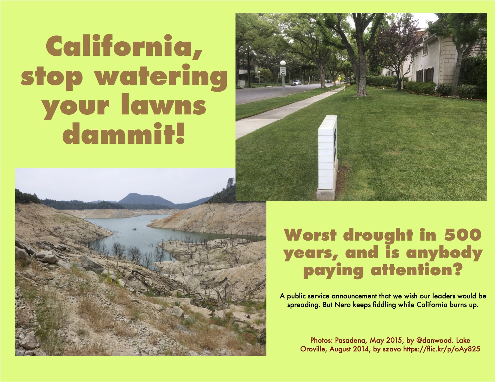 California S Water Waste Is Awful But My Idea To Stop It