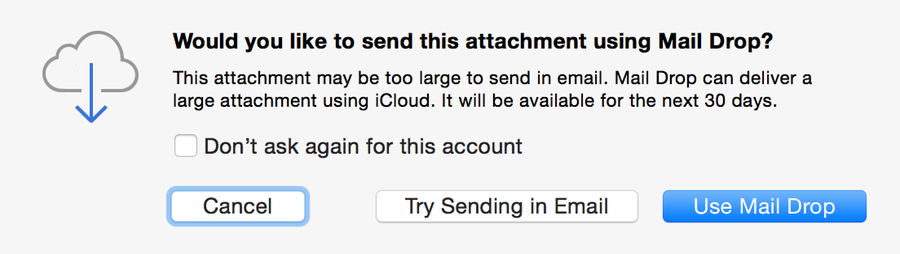 """Yosemite's """"Mail Drop,"""" with plain text emails, considered harmful"""