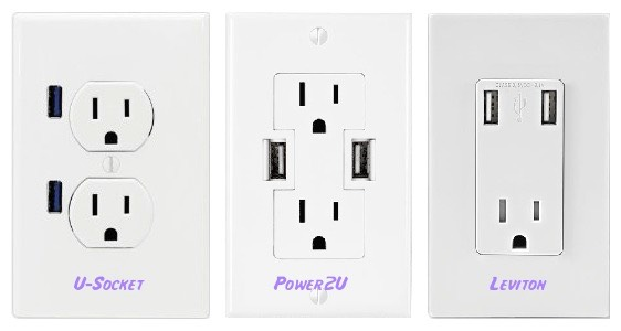 USB Power Integrated into AC Wall Outlets | Dan Wood: The Eponymous Blog