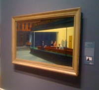 Nighthawks at the Chicago Art Institute