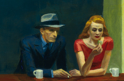 Nighthawks, detail, in 10.6.3